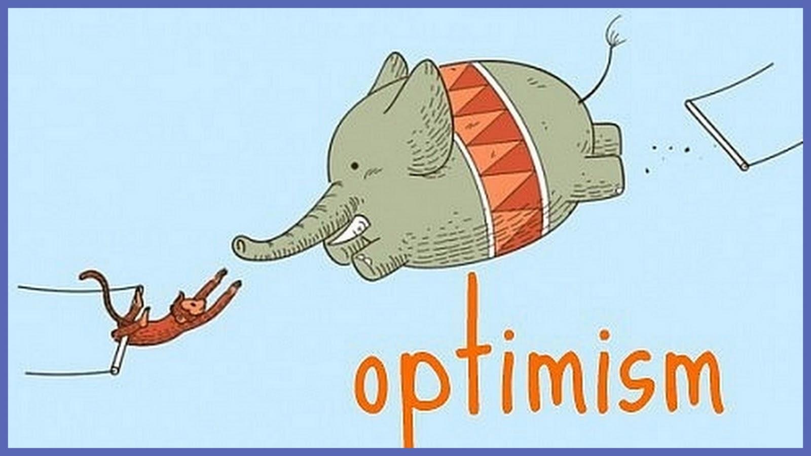 Открытка про оптимизм