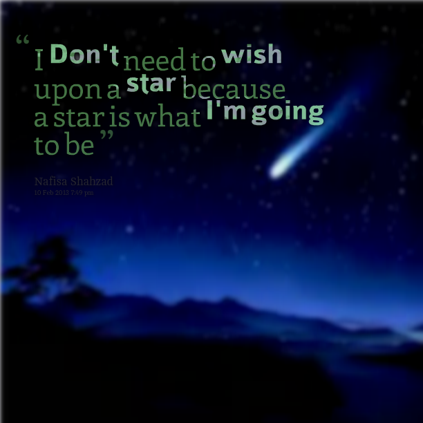 i need a shooting star galaxy quote - photo #27