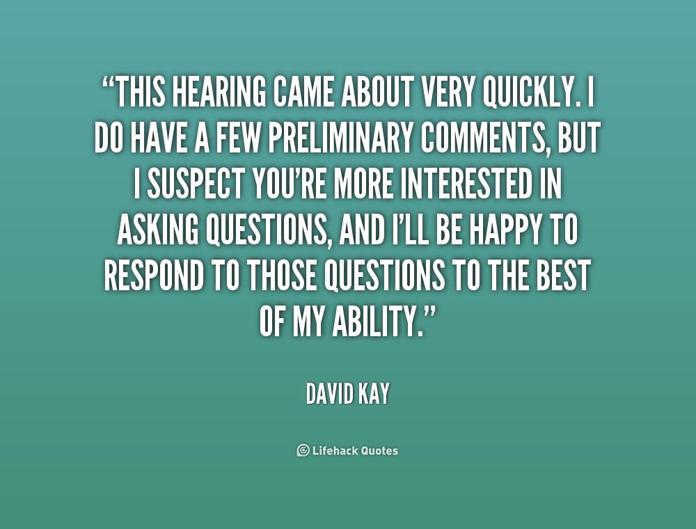 Hearings Quotes. QuotesGram