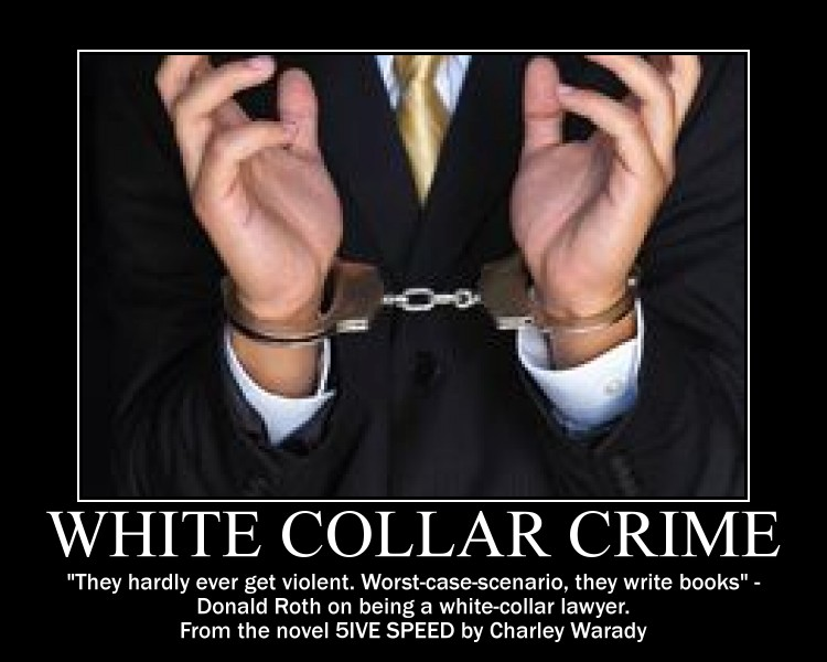 white collar crime vs street crime essay Violent street crime versus harmful white-collar crime: a comparison of perceived seriousness and punitiveness ris papers reference manager refworks.