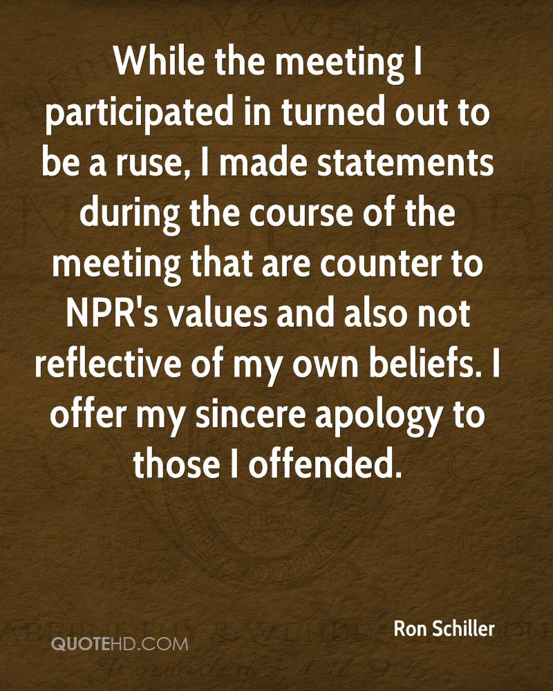 how to start a sincere apology