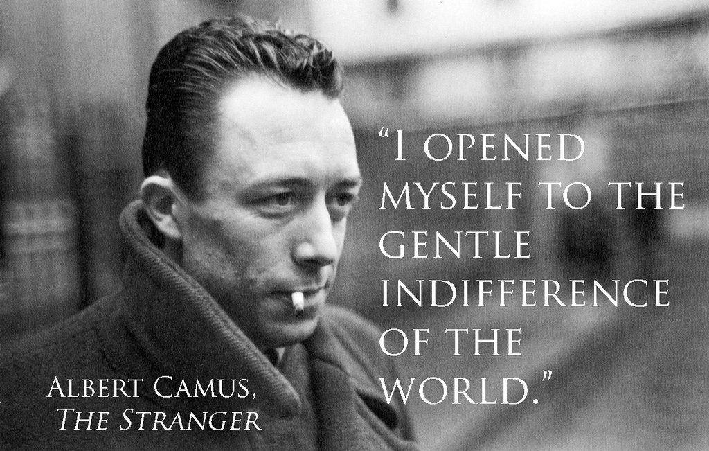 meursalt as a nihilist in albert The stranger study guide contains a biography of albert camus  meursault refuses to say that he  he is not a nihilist but he believes that nothing divine.