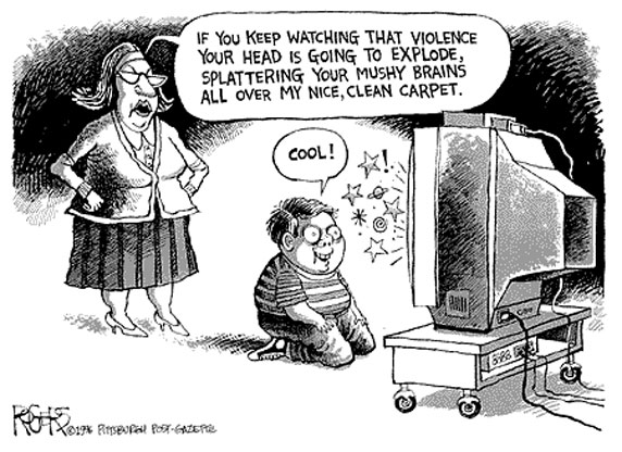 an analysis of the influence of cartoon violence on children Essay about impact of cartoons on children's impact on children this cartoon shows that violence and impact of cartoons on children's.