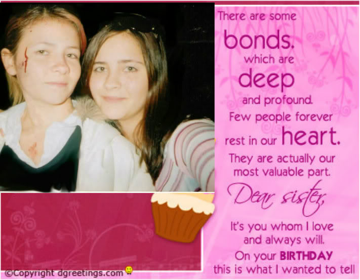 Amazing Happy Birthday Sister Funny Quotes Quotesgram Personalised Birthday Cards Paralily Jamesorg