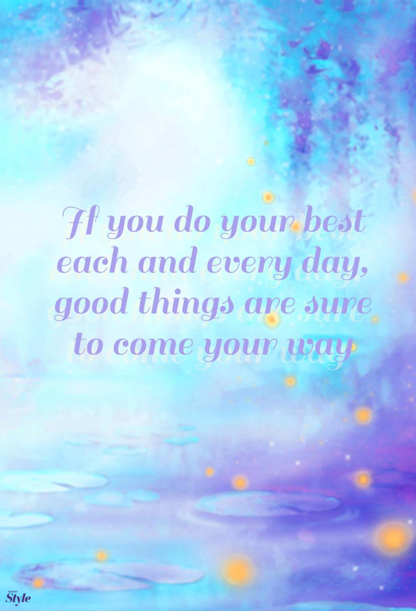 Motivational Disney Quotes Tangled Quotesgram