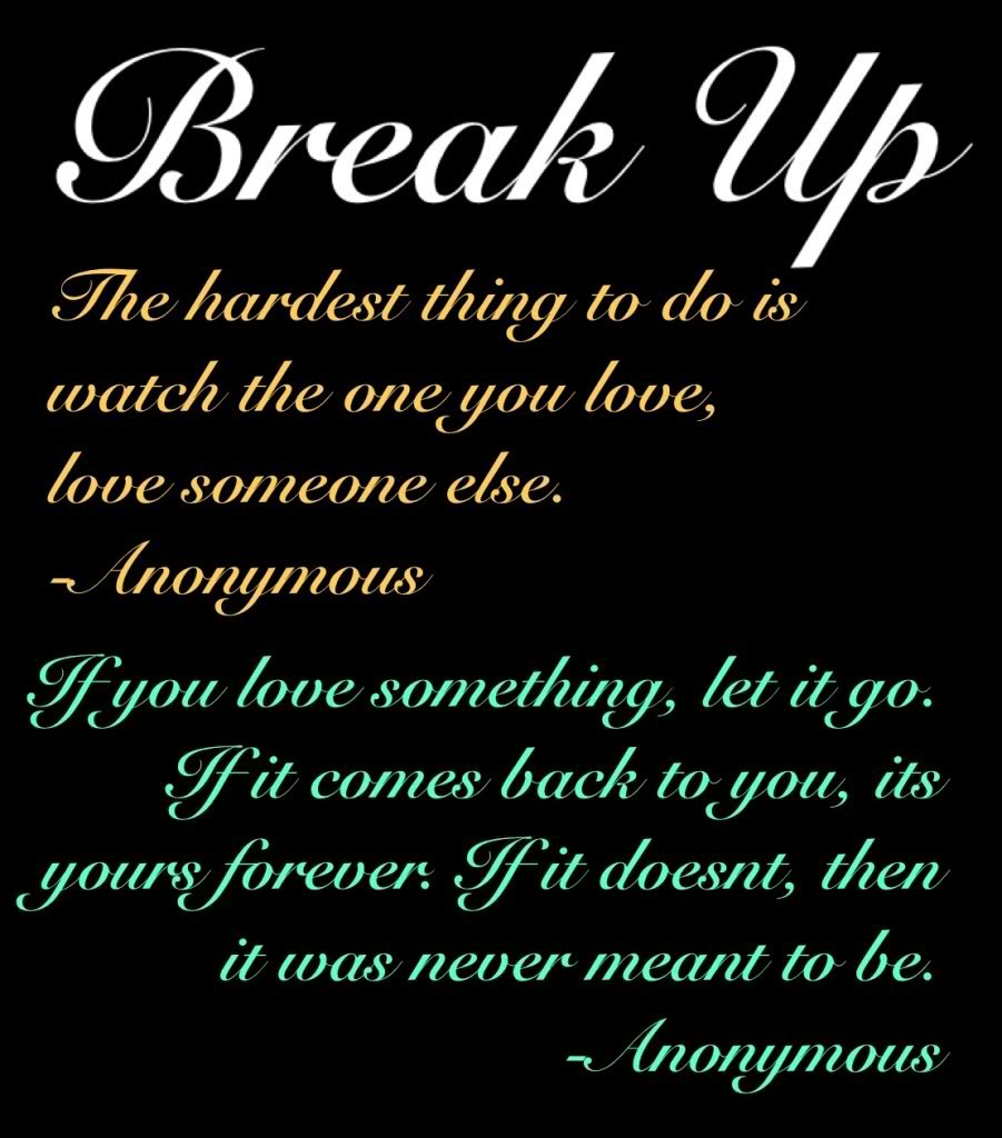 Sad Quotes About Love: Break Up Poems And Quotes. QuotesGram