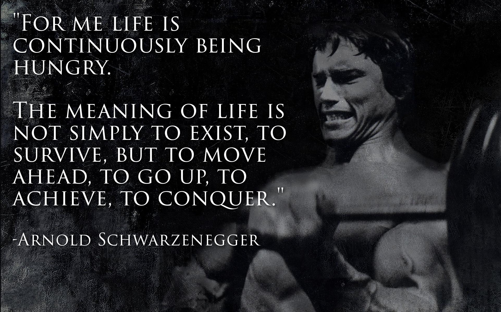 Arnold Schwarzenegger Fitness Quotes Quotesgram