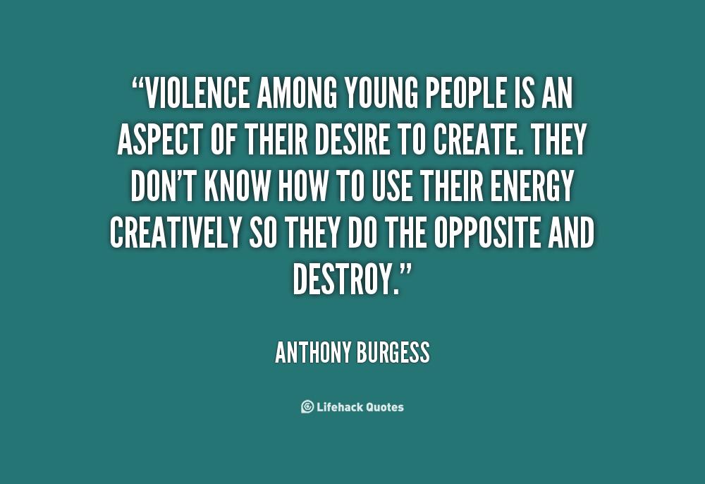 violence among the young
