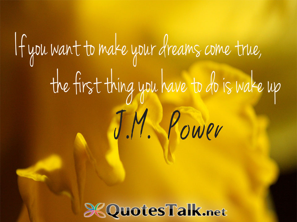 making dreams come true essay Making dreams come true as a child, did you ever wish upon a star did you ever dream of being a prince or princess in a magnificent castle or dream of being able to fly high above the tallest buildings.