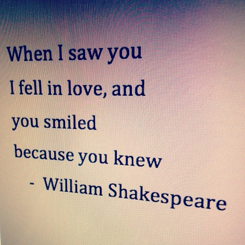 Love Images With Quotes And Sayings : Shakespeare Love Quotes And Poems. QuotesGram