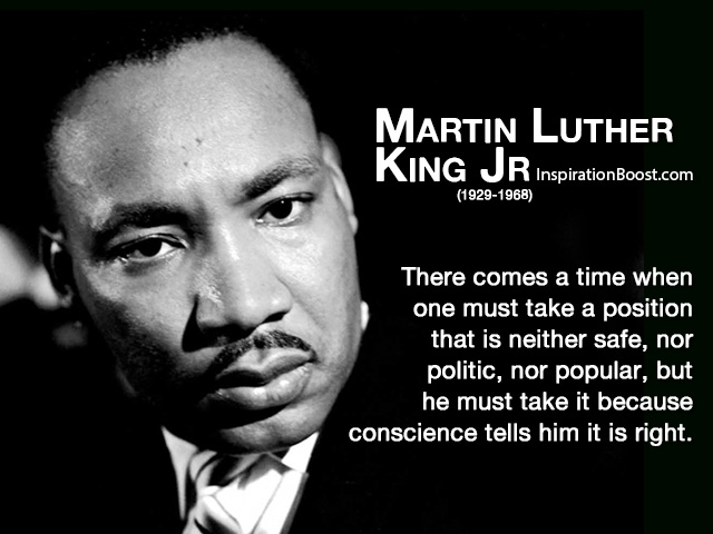 Martin Luther King Jr Quotes On Courage. QuotesGram