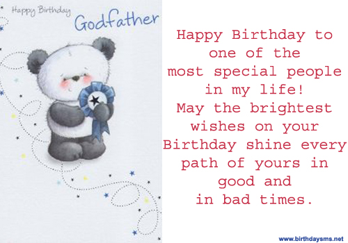 Happy Birthday Godmother Quotes Quotesgram: Great Happy Birthday Godfather Quotes. QuotesGram
