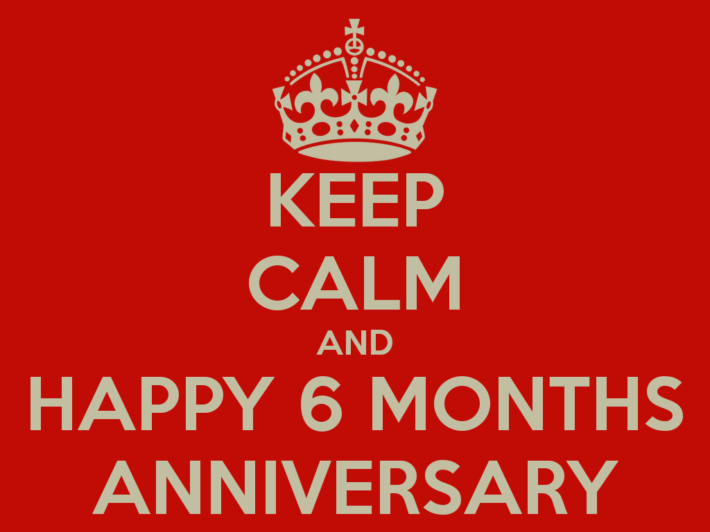 6 Month Anniversary Quotes Funny. QuotesGram