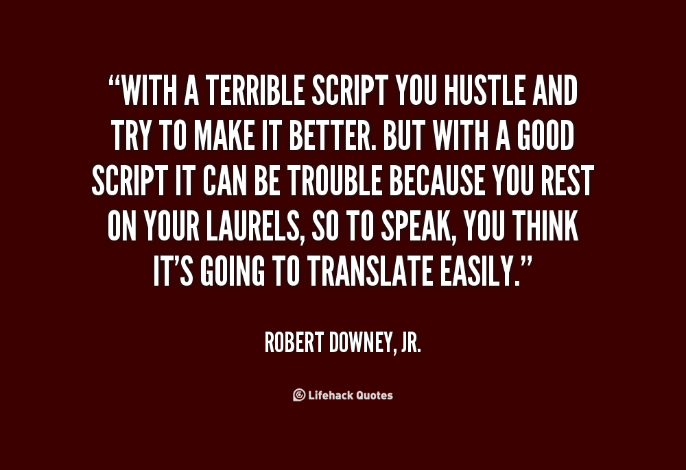 The the hustler quotes