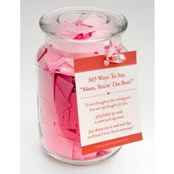Mom Love Quotes Jar Quotesgram