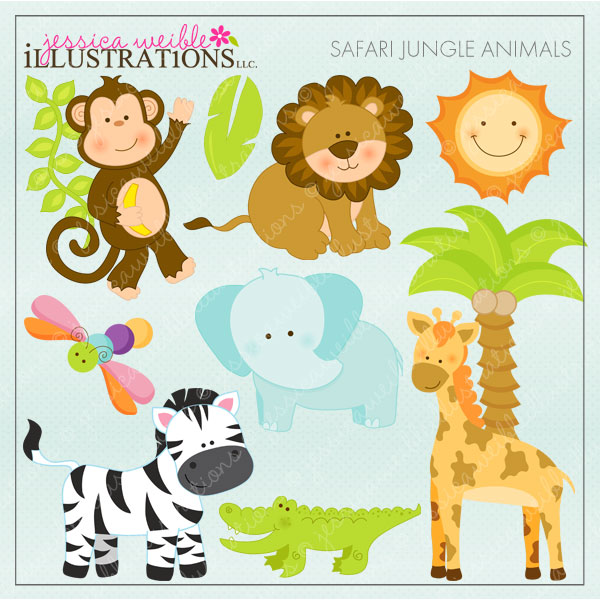 It's just an image of Printable Safari Animals intended for office jungle animals
