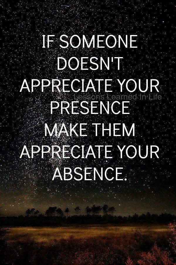 Never Appreciated Quotes. QuotesGram