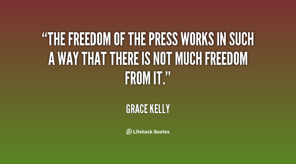the history of press freedom in In recent months, the american political system experienced an upheaval of unprecedented events involving the inauguration of president donald trump.