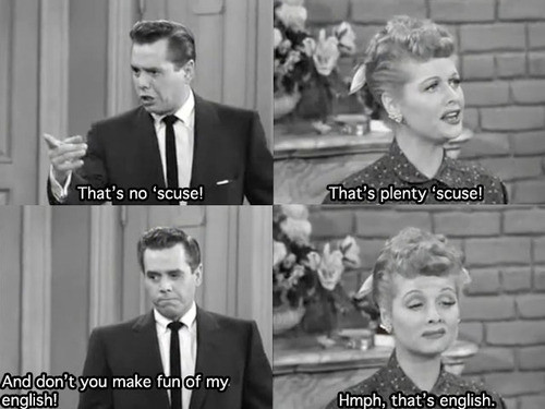 Funny Quotes I Love Lucy. QuotesGram
