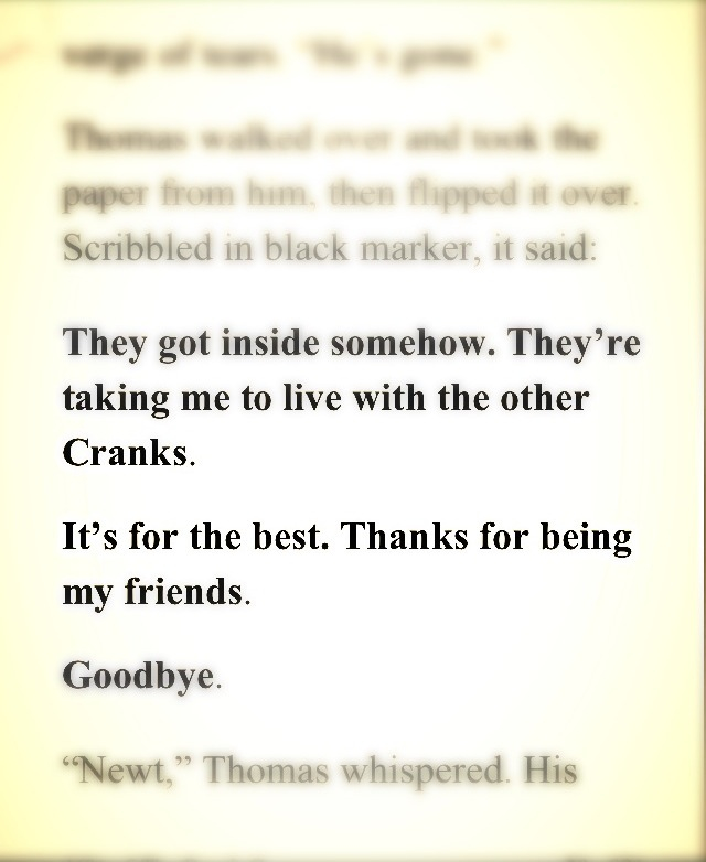 The Death Cure Thomas Quotes. QuotesGram