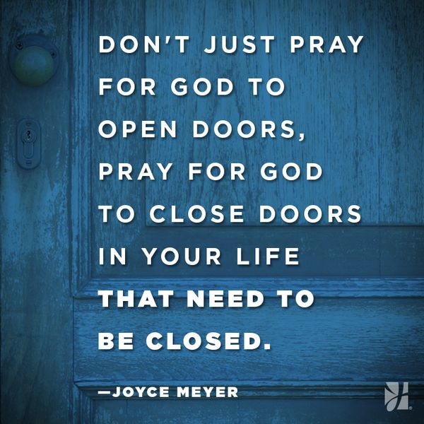 how to close spiritual doors
