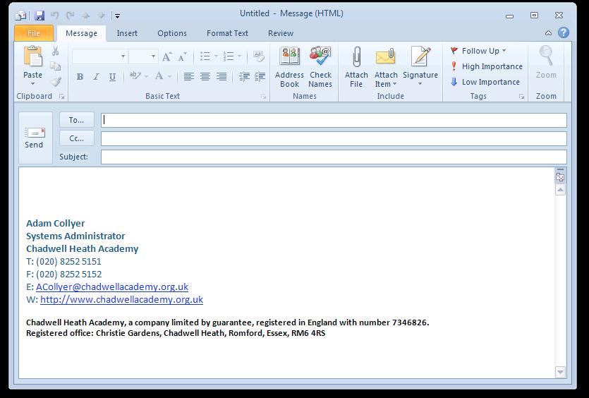 company email signature template - professional email signature quotes quotesgram
