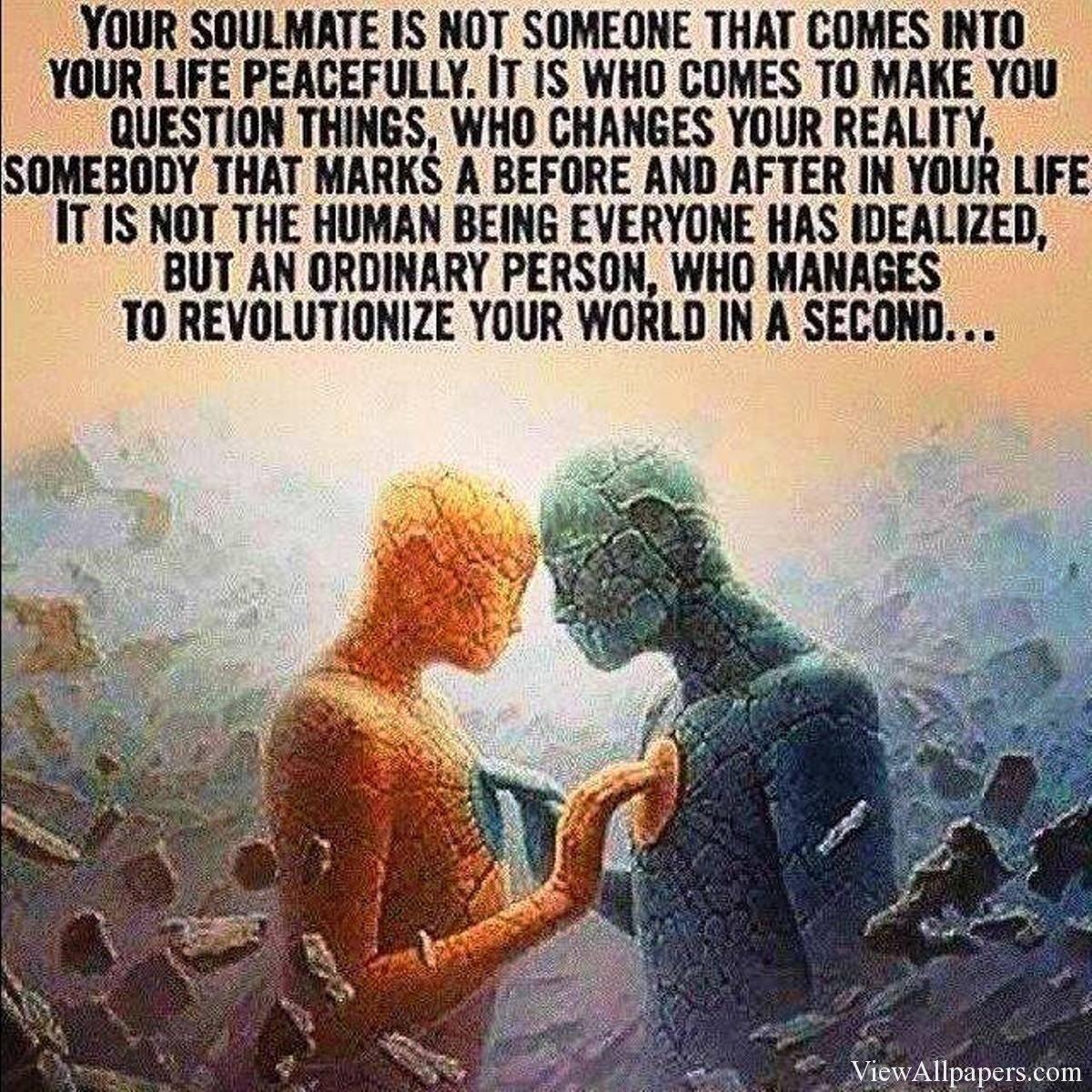 Famous Quotes About Soulmates. QuotesGram