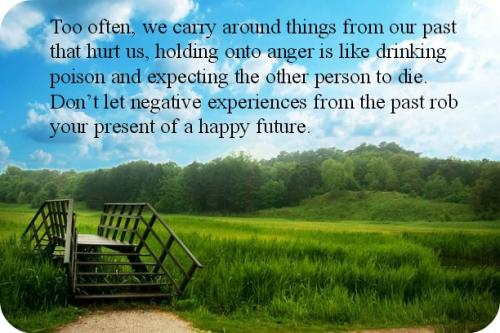 how to let go of past hurts and anger