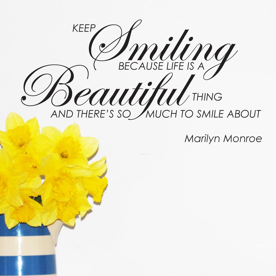 beautiful life sayings