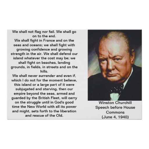 Winston Churchill Quotes Beginning Of The End: Symbolic Quotes From Winston Churchill. QuotesGram