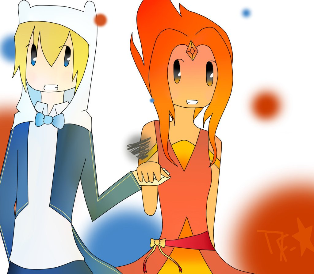 finn and flame princess meet each other