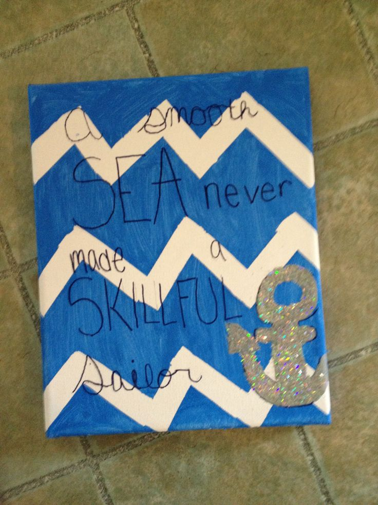 Anchor canvas painting quotes quotesgram for What paint for canvas