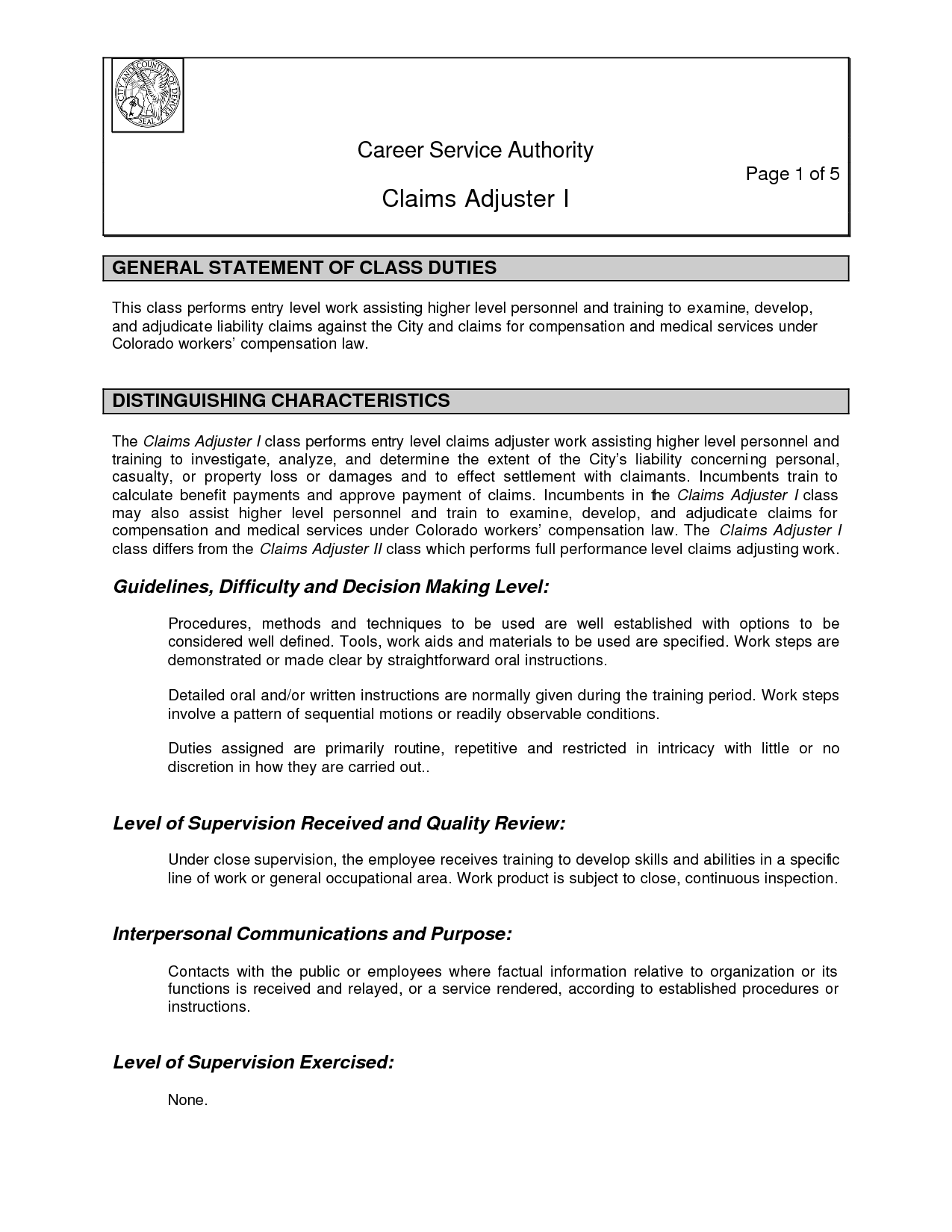 cover letter for claims adjuster trainee  cover letter examples also claims adjuster quotes quotesgram