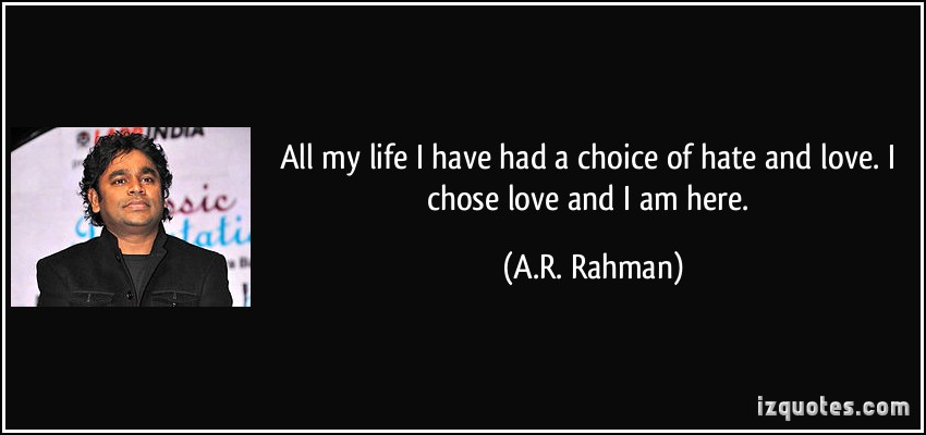 ar rahman and actor relationship quizzes