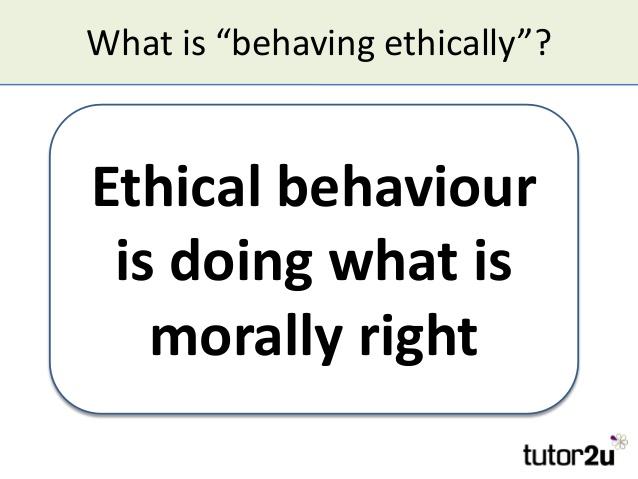Ethical Behavior Quotes. QuotesGram
