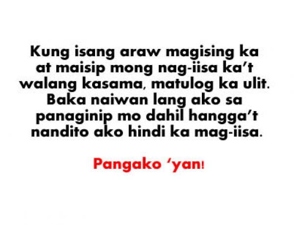 Tagalog Quotes About Love Lost. QuotesGram
