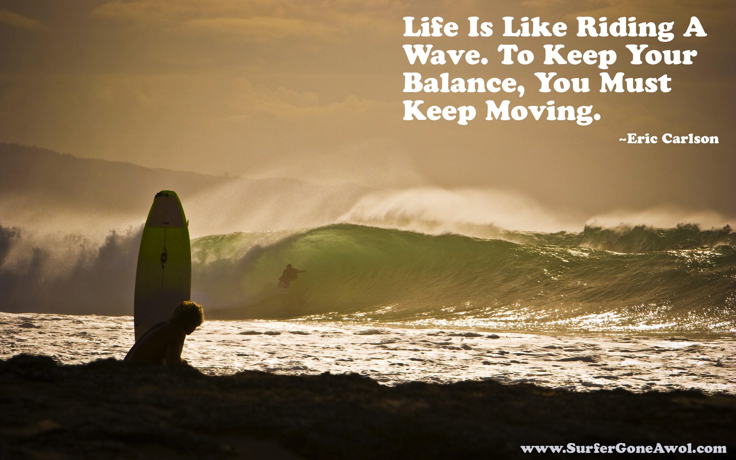 Wave Quotes. QuotesGram
