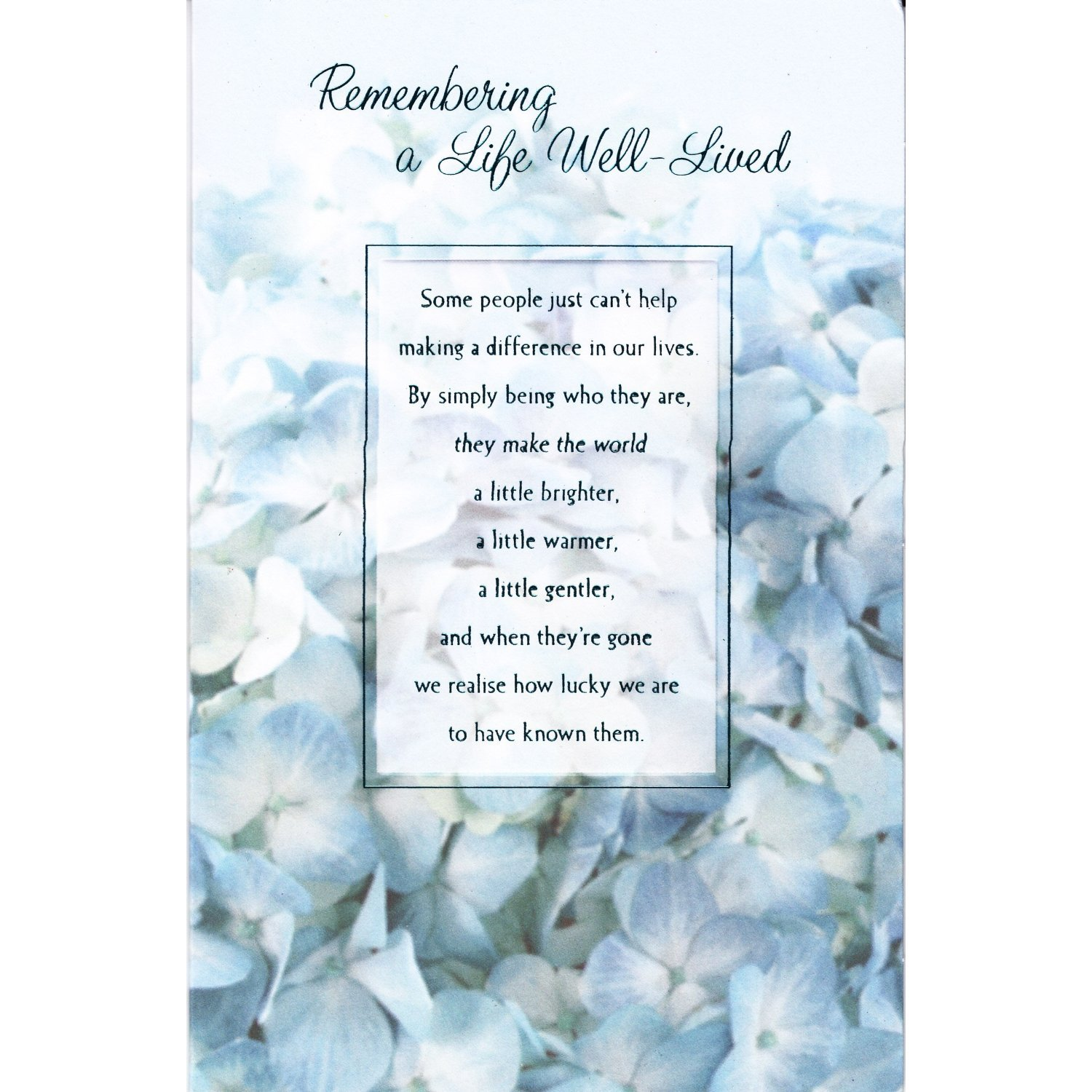 Quotes For Funeral Card Quotesgram