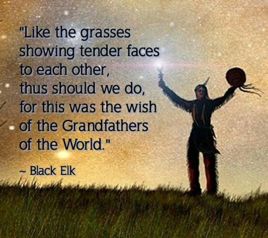 Famous Indian Quotes About Life: Black Elk Native American Quotes. QuotesGram