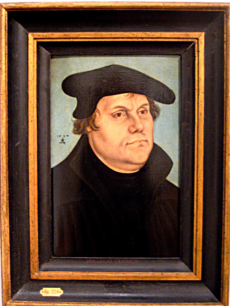 martin luther and the protestant revolution Was the protestant reformation a reform or a  into a revolution when martin luther first protested the sale  church and the protestant bodies.