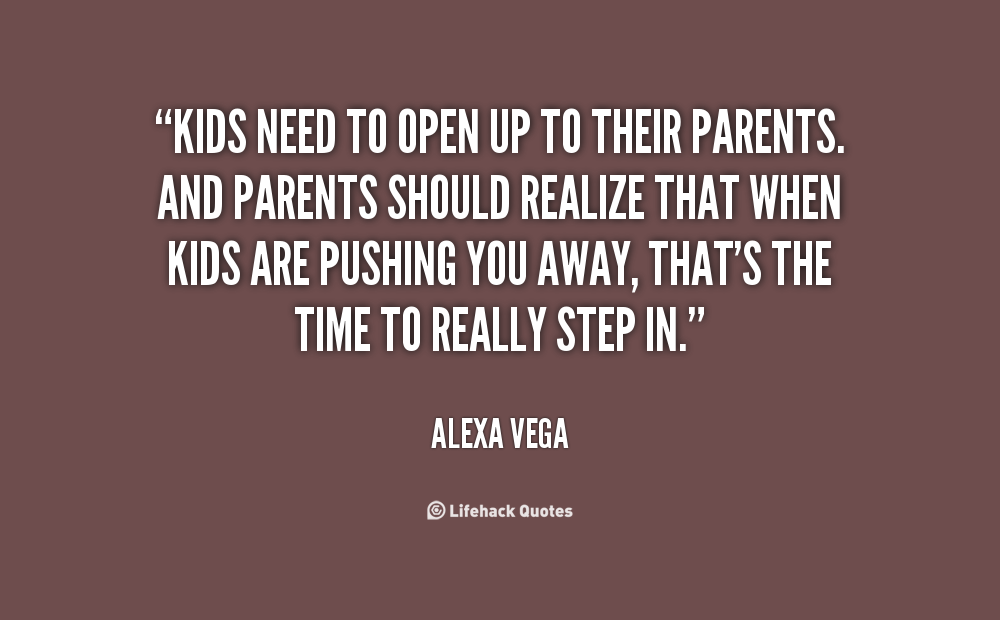 open relationship and kids