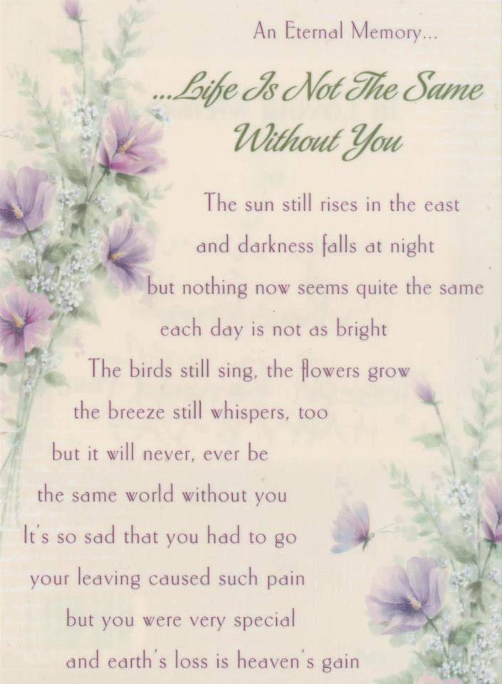 Aunt Passed Away Quotes Quotesgram