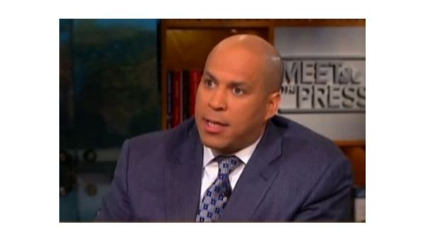 cory booker meet the press quote