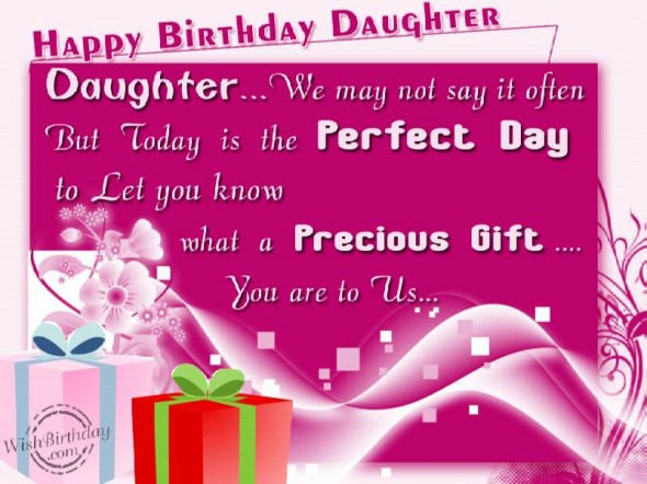 Inspirational Quotes For Daughters Birthday. QuotesGram