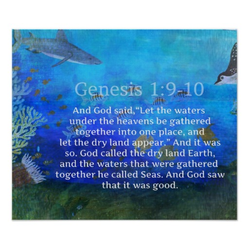 Bible quotes ocean water quotesgram for Bible verses about fish
