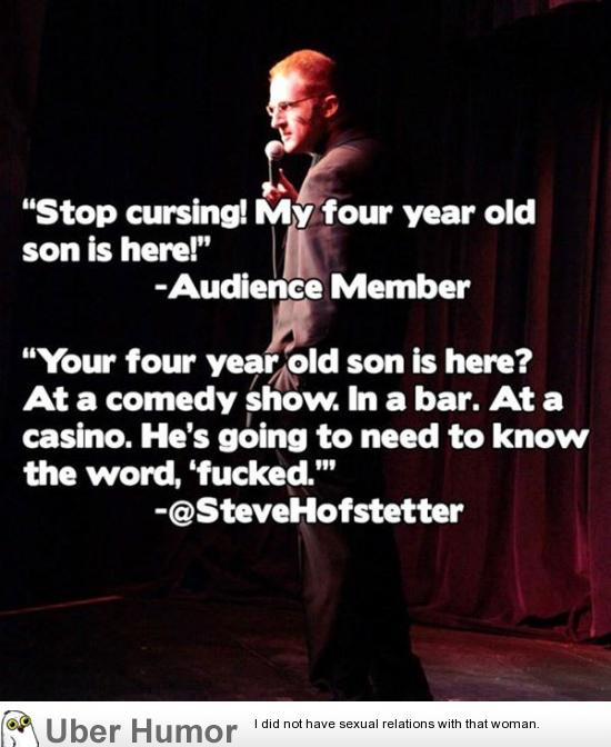 Best Comedy Quotes Of All Time: Stop Cursing Quotes. QuotesGram
