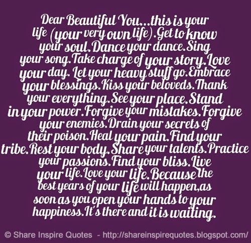 Dear Life Quotes. QuotesGram