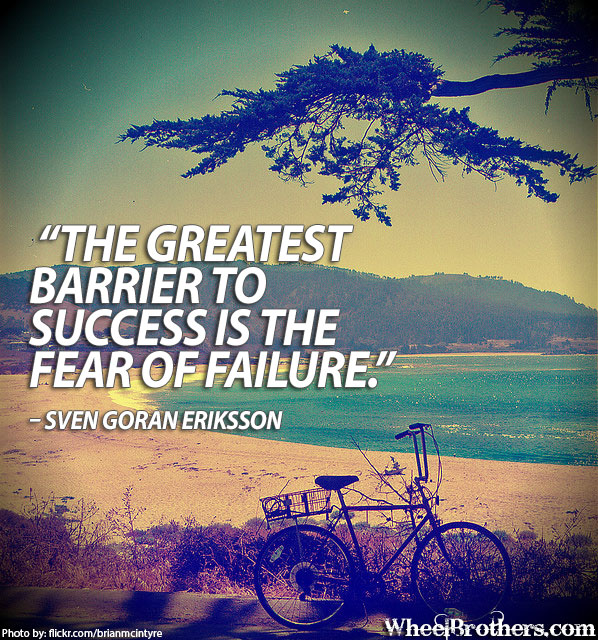 Inspirational Quotes About Failure: Fear Of Success Quotes. QuotesGram