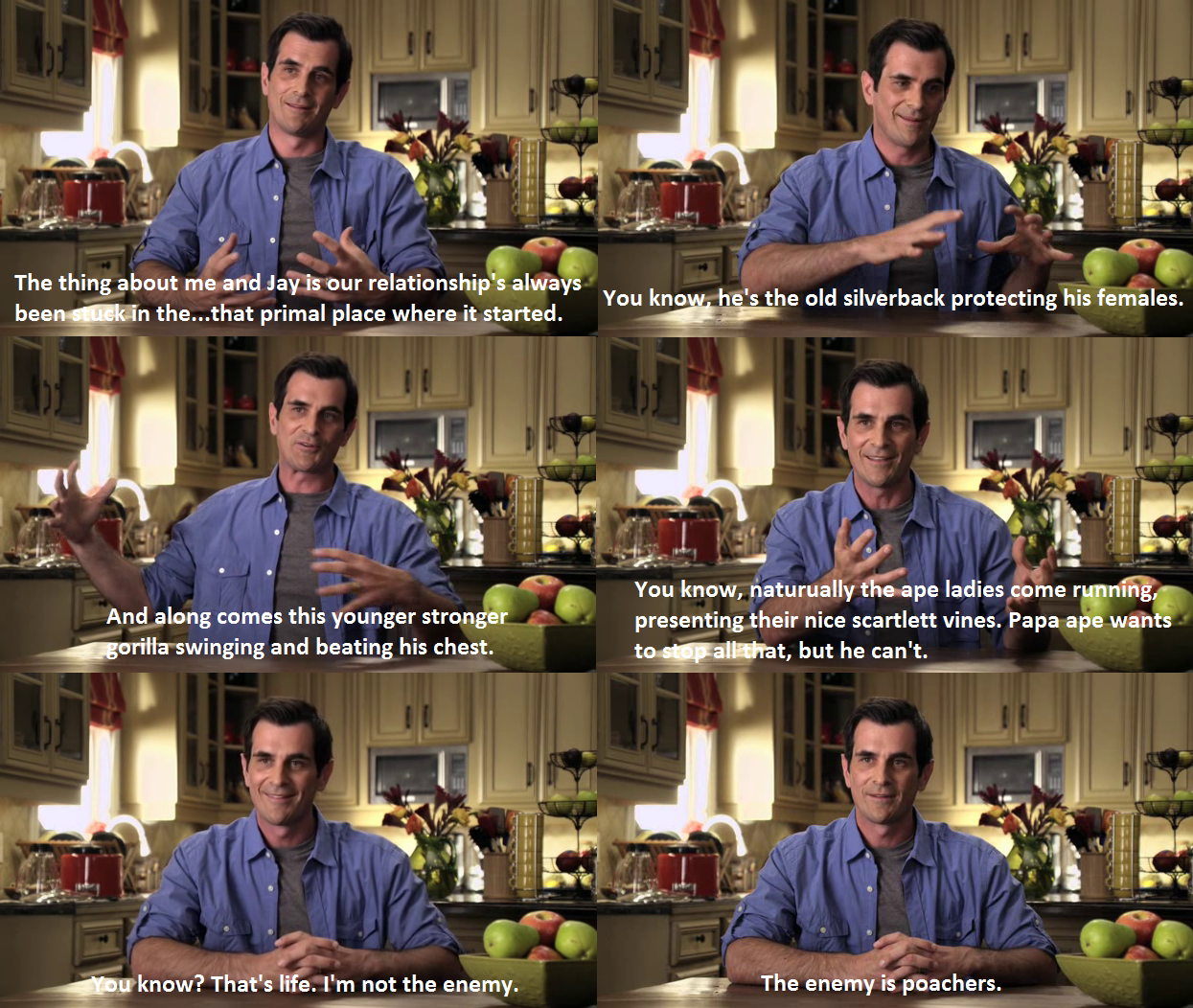 Phil Dunphy Philosophy Quotes. QuotesGram