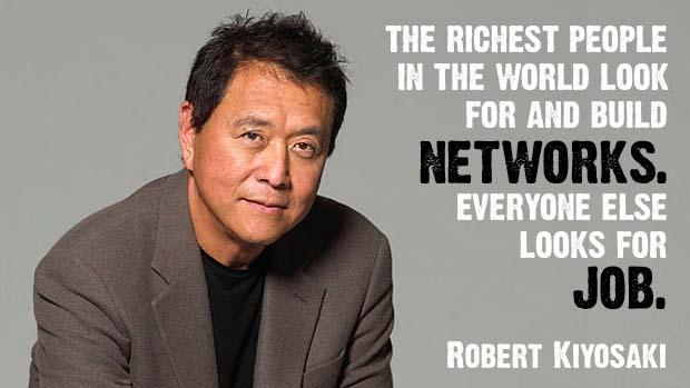 robert kiyosaki network online marketing article
